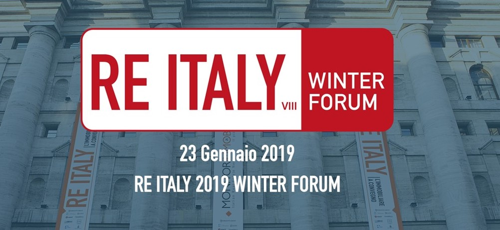 RE ITALY 2019 WINTER FORUM 23 gennaio